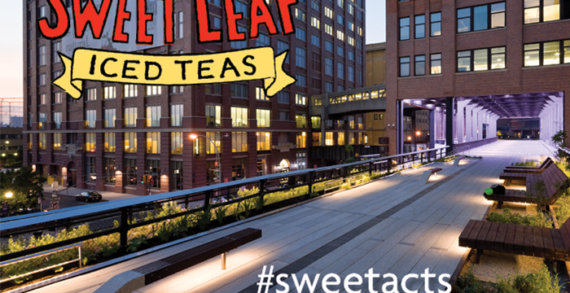 "Sweet Leaf Tea Launches National ""Be Sweet Out There"" Campaign"