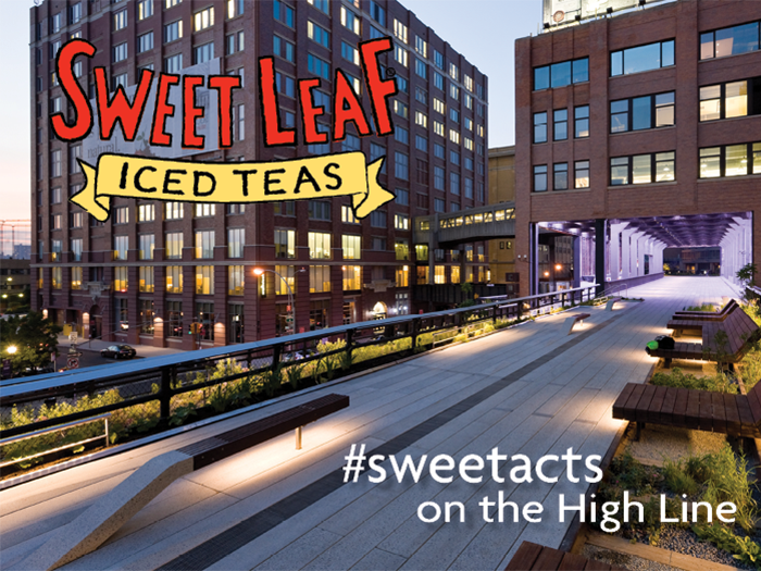 """Sweet Leaf Tea Launches National """"Be Sweet Out There"""" Campaign"""