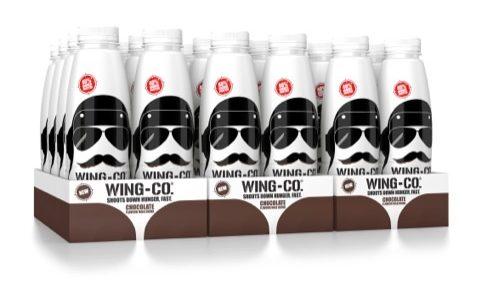 PB Creative Brands Wing-Co Milk Drink With 'Wingman' Designs
