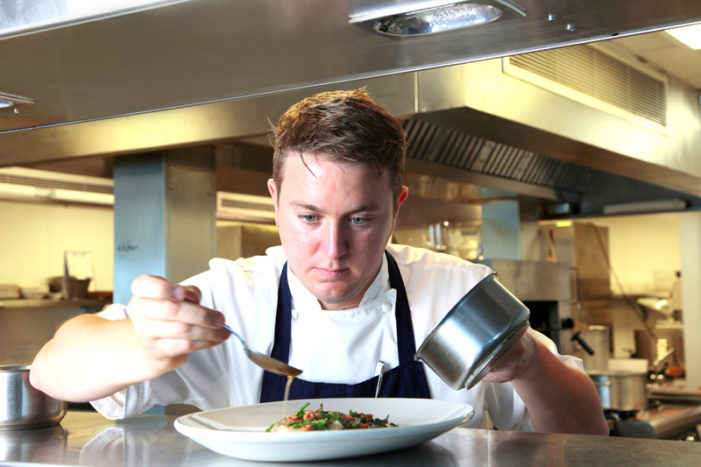 Exciting Young Chef Jamie Porter to Head Up the St. Moritz Kitchens