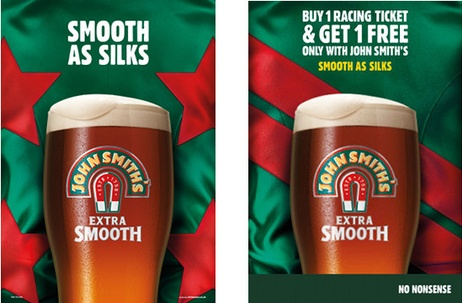 John Smith's 'Smooth As Silks'