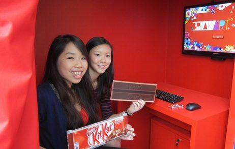 JWT Singapore Launches Kit Kat's Mind Powered Art