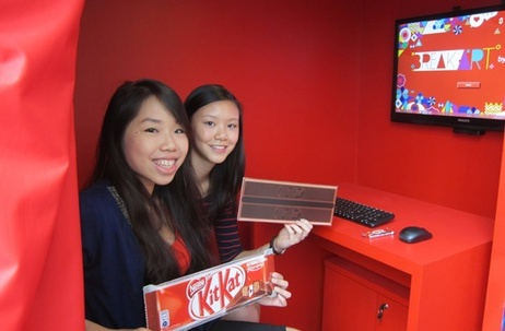 JWT Singapore Launches Kit Kat's Mind Powered Art