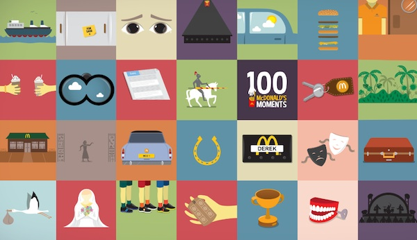 McDonald's Celebrates '100 Moments' It Played In People's Lives