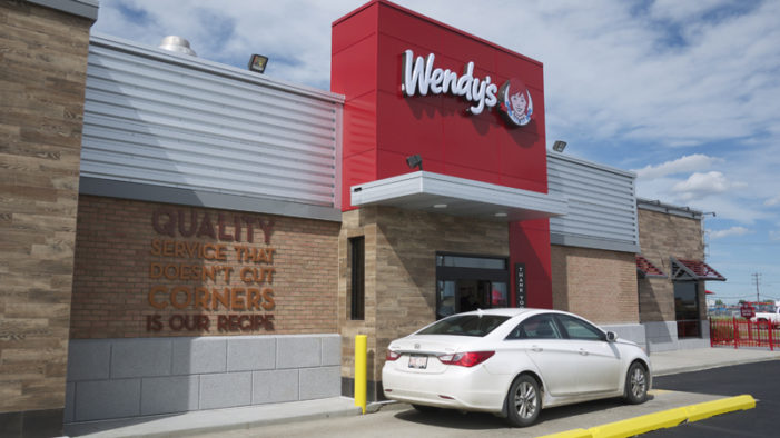 Wendy's Opens New Concept Restaurant in Edmonton