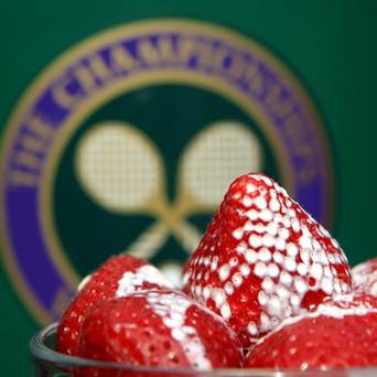Strawberries Facing Stiff Competition at Wimbledon