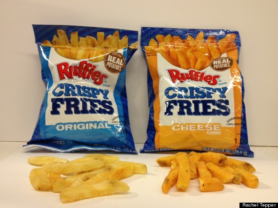 The Ruffles Brand Introduces Crispy Fries Potato Strips