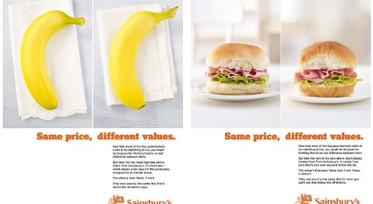"""Sainsbury's to Release """"Same Price, Different Values"""" Ad Campaign"""