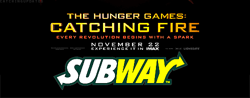 Subway & Lionsgate Team Up For The Hunger Games: Catching Fire