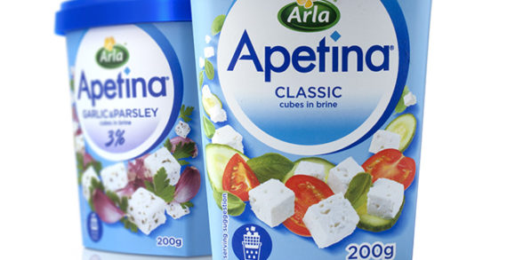 Arla Apetina Unveils New Look Created by Pi Global