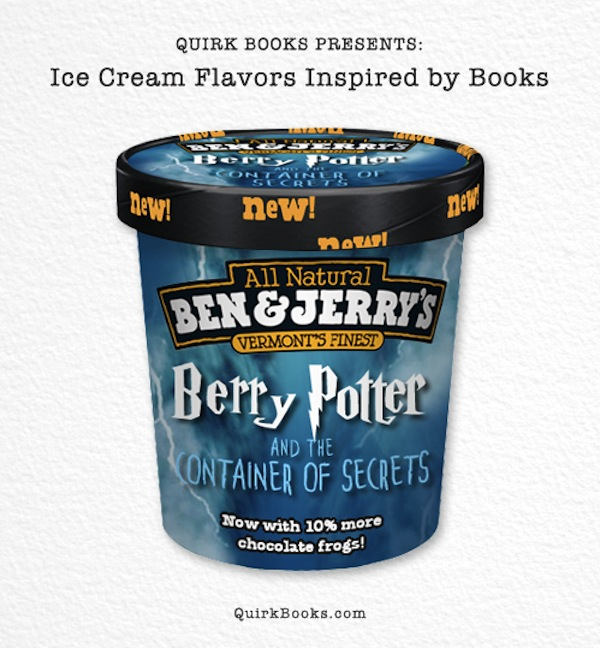 Book-Inspired Ice Cream Flavors To Keep You Cool