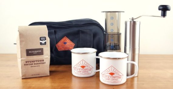 A Nifty Coffee Kit That Ensures A Supply Of Good Coffee While Traveling