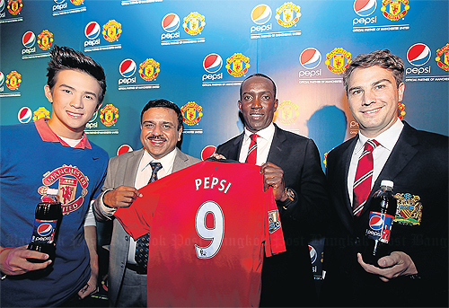Manchester United & PepsiCo Form Partnership In Seven Countries In Asia