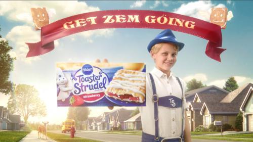 """Pillsbury Toaster Strudel Reinvents Itself With """"Das Strudel"""""""