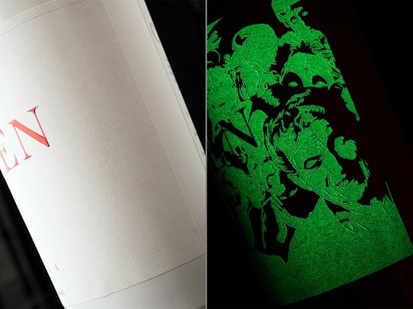 A Spooky Vodka Bottle Design That Glows In The Dark