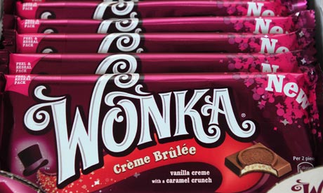 Nestlé Unveils New Range of Willy Wonka Chocolate Bars