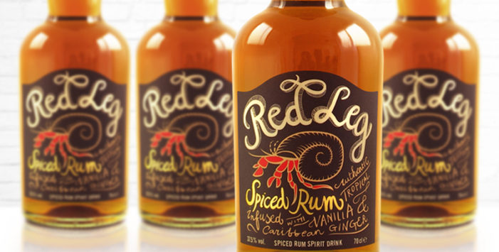 RedLeg Launches New Brand Identity & Packaging Design From ButterflyCannon