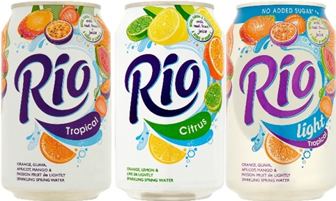 A New Look For Soft Drink Rio, by Dragon Rouge