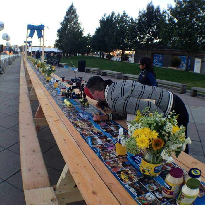 Hellmann's Sets Record for World's Longest Picnic Table at Centennial Celebration