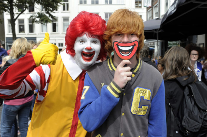 McDonald's Leads Charge as Redheads Break Guinness World Record