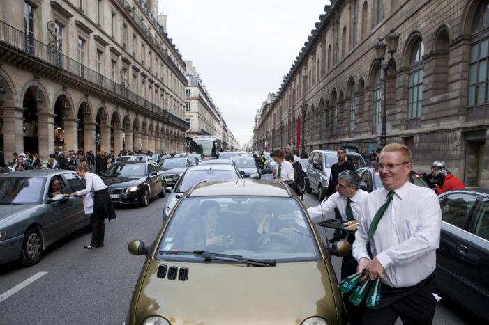 Badoit Express Turns Paris' Famous Rue de Rivoli into a Rue de la Gastronomie