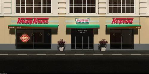 First Krispy Kreme Doughnut Shop Set To Open in Moscow