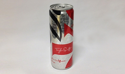 Diet Coke Launches Special Edition Taylor Swift Can