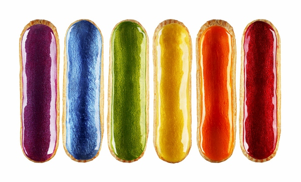 Shiny, Happy Éclairs: The Classic French Pastry Gets A Makeover