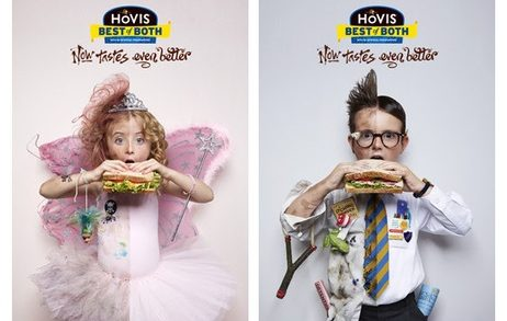 Kids' Naughty & Nice Sides Shown for Hovis