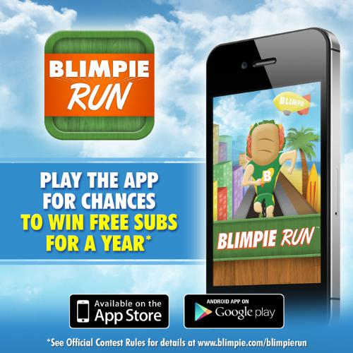 Blimpie Launches New Game App To Appeal to Millennials