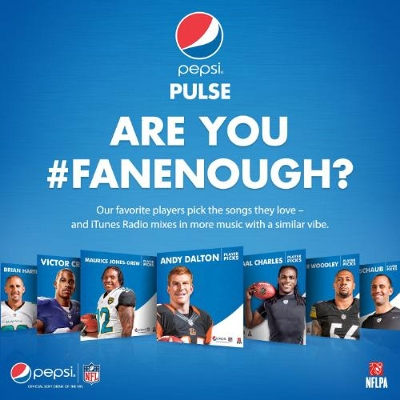 Pepsi Introduces New Customized #FanEnough Stations on iTunes Radio