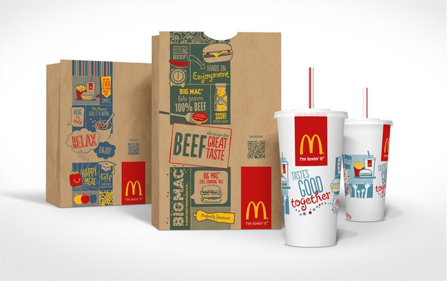 McDonald's Rolls Out New Global Packaging