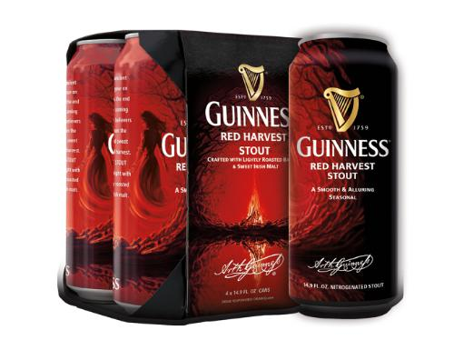 Guinness Introduce Their New Seasonal Craft Beer – Red Harvest Stout