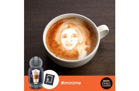 Jam's Coffee Cup Art for Nescafé