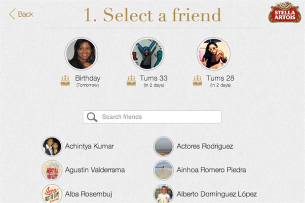 Stella Artois Launches Social Media Gifting App