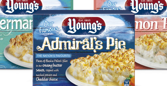 Springetts Re-Designs the Range of Young's Meals
