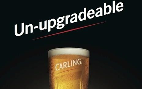 Carling Pokes Fun at Apple in New Ads