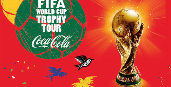 World's Largest FIFA World Cup Trophy Tour by Coca-Cola & FIFA Kicks Off in Rio