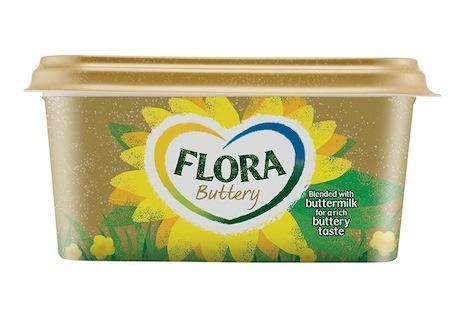 Unilever Revamps Flora Sunflower Logo in £12m Bid to Revive Sales