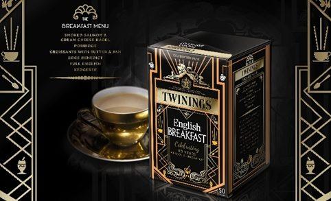 BrandOpus Creates Twinings English Breakfast Tea 80th Anniversary Packs
