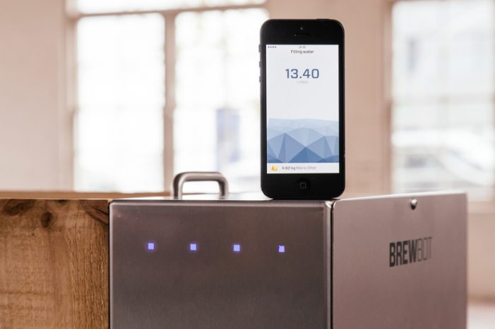 An Appliance That Lets You Brew Your Own Beer With A Smartphone