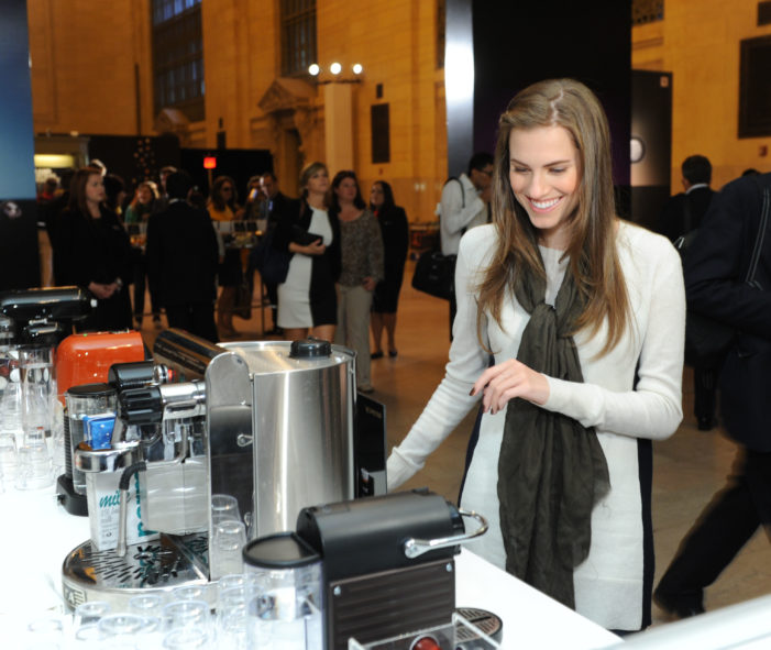 Nespresso Unveils Pop-up Boutique in New York's Grand Central Terminal