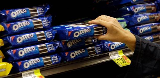 Mondelez to Use 'Smart' Shelves to Target Specific Ads at Consumers