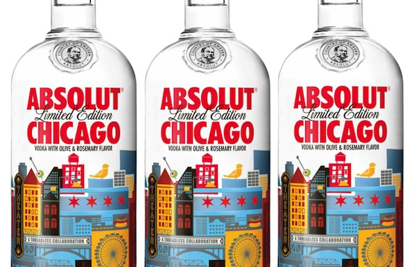 Absolut Unveils Limited Edition Bottle That Pays Tribute To Chicago