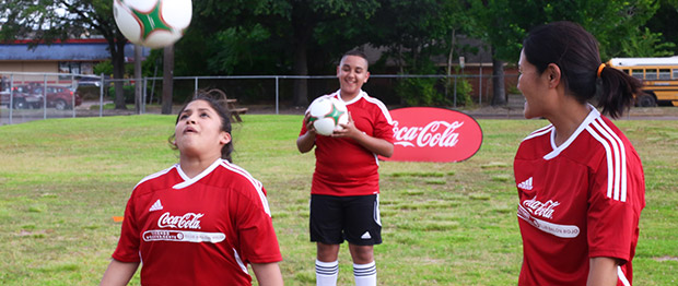 Coca-Cola Offers Youth Clubs of San Diego an Active, Educational Experience