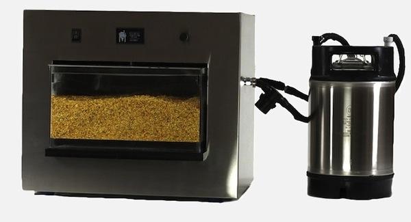 'Instant Beer Machine' Brews Homemade Beer In 3.5-Hours