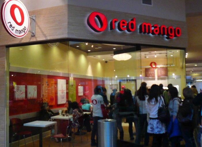 Red Mango Lands at Philadelphia International Airport