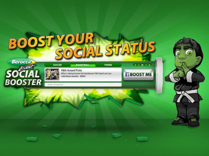 JWT's Berocca Social Booster Gives Young Singaporeans an Edge on Facebook