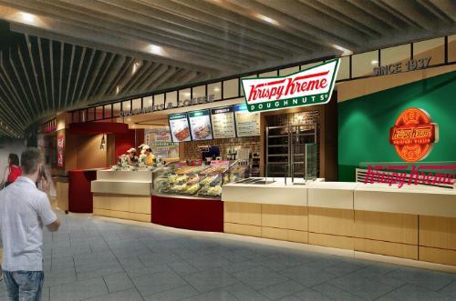 First Krispy Kreme Doughnut Shop Set To Open in Singapore