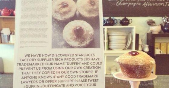 UK Starbucks Debuts 'Duffin', Slandered For Stealing Idea From Local Bakery